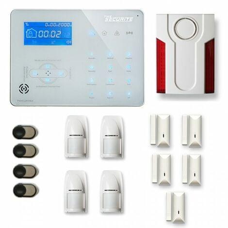 Alarme maison sans fil ICE-B24 Compatible Box internet