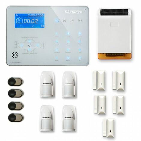 Alarme maison sans fil ICE-B25 Compatible Box internet