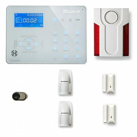 Alarme maison sans fil ICE-B29 Compatible Box internet et avec option GSM incluse