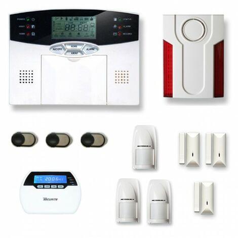 Alarme maison sans fil MN21 Compatible Box internet