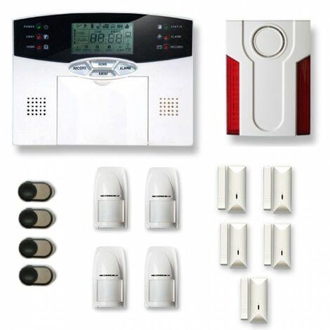 Alarme maison sans fil MN24 Compatible Box internet