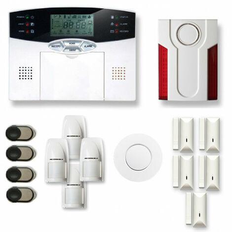 Alarme maison sans fil MN26 Compatible Box internet