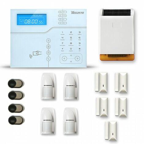 Alarme maison sans fil SHB25 GSM/IP