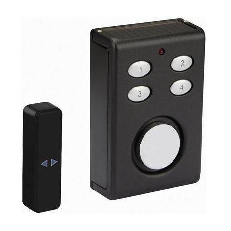 Alarme pour porte / fenêtre Velleman HAM200 noir avec code 130 dB 1 pc(s)