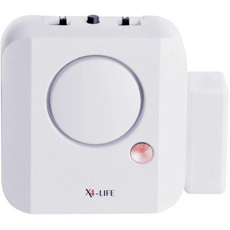 Alarme pour porte / fenêtre X4-LIFE 701565 110 dB 1 pc(s)