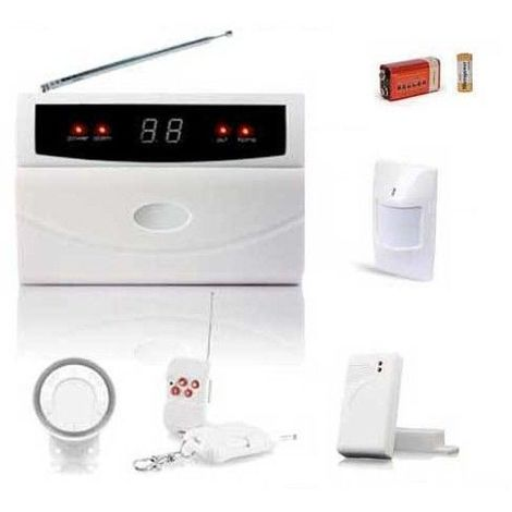 Alarme Sans Fil Pour Appartement Kit Serenity32