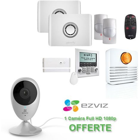 Alarme SOMFY Protexiom GSM Online Premium