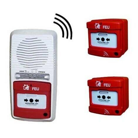 Alarme Type 4 Radio Avec 2 Déclencheurs