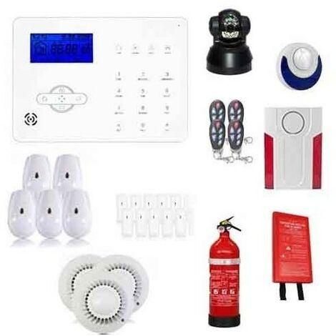 Alarme Ultra Securite, Incendie Et Caméra Ip