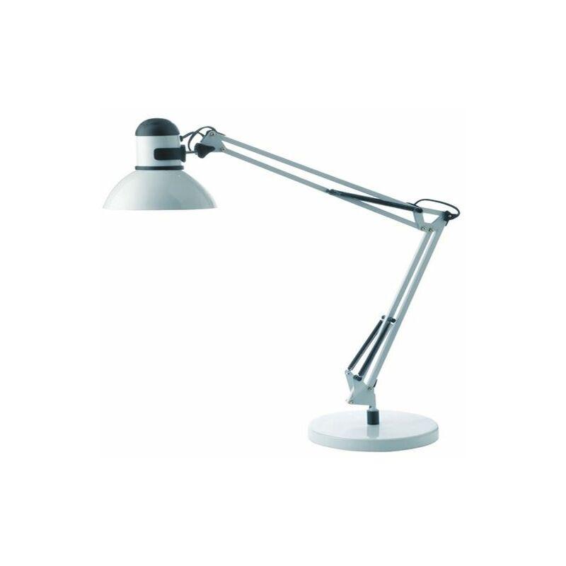 Architect White Desk Lamp - ALB00879 - Alba