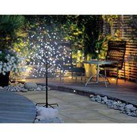 Albero a LED di design Ciliegi in fiore 120 cm Bianco freddo Polarlite PCA-03-005 PCA-03-005 Marrone