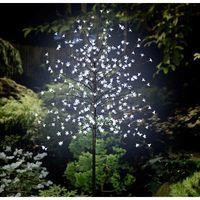 Albero a LED di design Ciliegi in fiore 180 cm Bianco freddo Polarlite PCA-03-003 PCA-03-003 Marrone