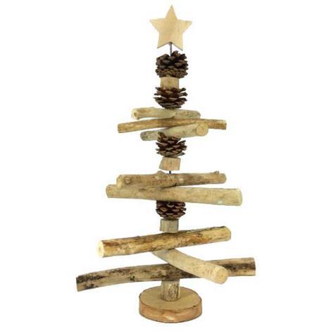 Albero Di Natale Shabby In Legno.Albero Alberello Di Natale In Legno Stile Shabby Chic Provenzale Natale 416917