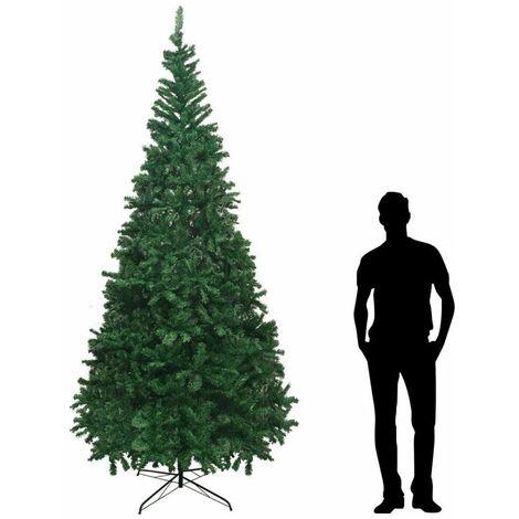 Albero Di Natale 5 Metri.Albero Di Natale 3 4 5 Metri 4120 Rami Anche Per Uso Esterno Pvc Luxury Mpn Verde 400 Cm 292781153088 5
