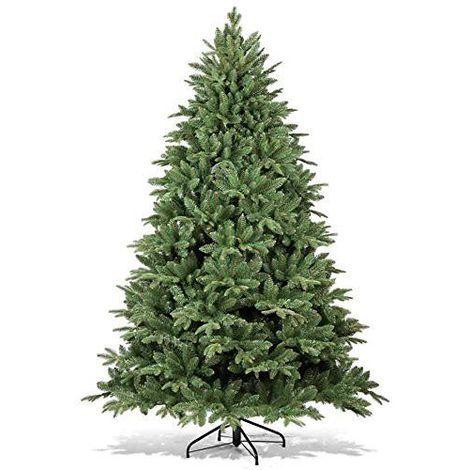 Albero Di Natale 250 Cm.Albero Di Natale Abete Artificiale Aspetto Naturale Da 150 A 250 Cm Luci 10 Mt Altezza Cm Mod5 250 Cm 7 Diversi Tipi Di Rami 87689 1