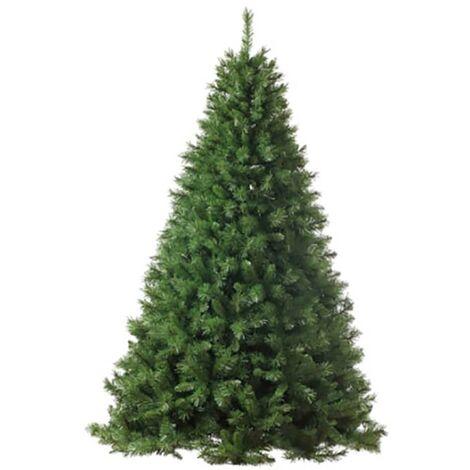 Albero di Natale Artificiale Base In Metallo Adami Gran Sasso Verde Varie Misure