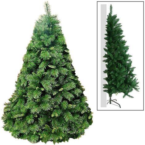 Albero di Natale Artificiale da Parete Manieri Alfalux Verde Varie Misure