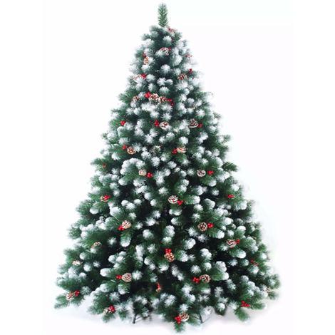 Albero di Natale Artificiale Innevato Manieri Natalino Lux Varie Misure