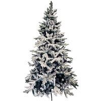 ALBERO DI NATALE INNEVATO VANCOUVER Varie Misure Christmas Pino Abete Kaemingk