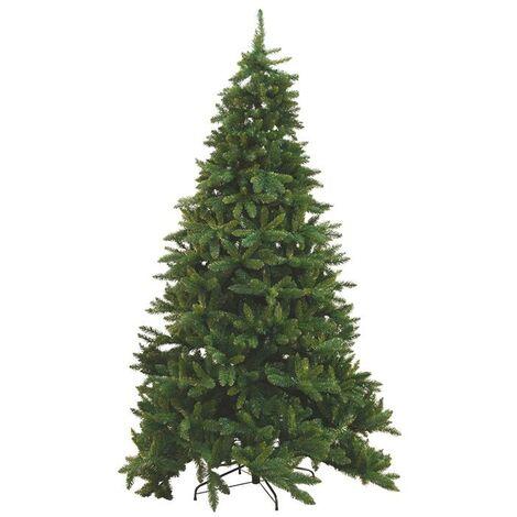 Albero Di Natale 80 Cm.Albero Di Natale Baviera H 1 80 Cm 1095 Rami Super Folto Con Base 385180