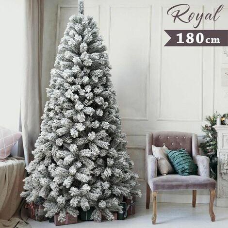 """main image of """"Albero Di Natale Innevato Royal 180cm 655 Rami Super Folto Effetto Neve Reale"""""""