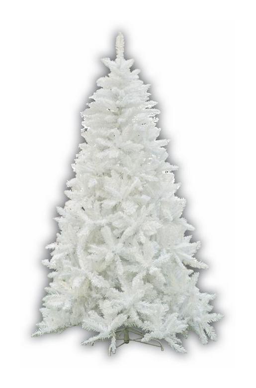 Albero Di Natale H 240.Albero Di Natale Mod Sherwood Altezza 240 Cm Colore Bianco 1448 Rami Ag22105