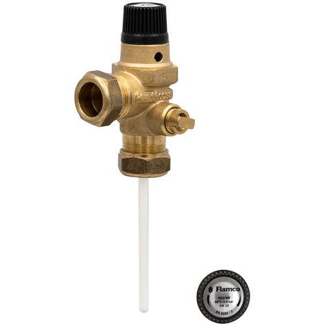 Albion Water Heaters - 22mm Pressure & Temperature Relief Valve