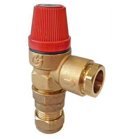 Albion Water Heaters - 6 Bar Pressure Relief Valve
