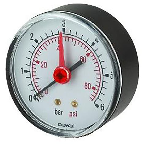 Albion Water Heaters - Pressure Gauge