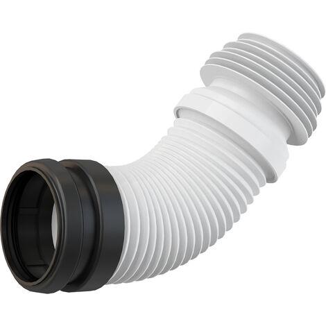 Alca Coude de vidage flexible pour WC, DN 90/110 (M9006)