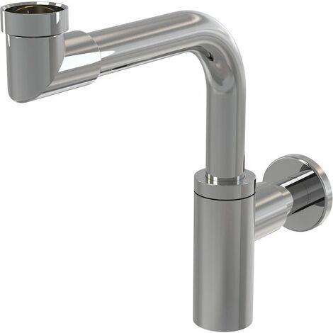 Alca Plast Siphon gain de place pour lavabo (A403)