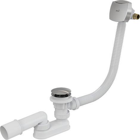 Alca Plast Siphon pour baignoire avec vidange manuelle (A508KM)