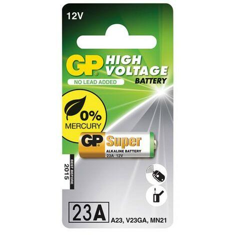 Alcalines Haut Voltage compatible VA23GA/MN21 - 12V - 55mAH - GP (10023AC1)