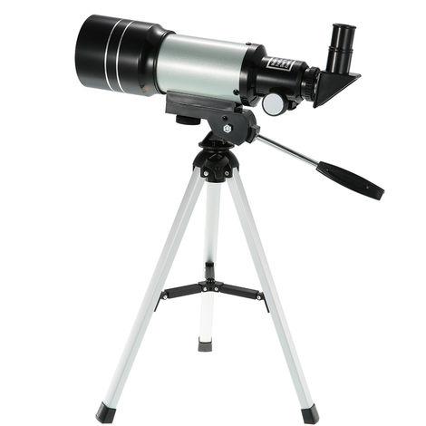 Alcance al aire libre monocular HD 150X refractiva Espacio Telescopio astronomico Viajes Spotting con portatil palanca ajustable del tripode