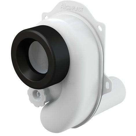 AlcaPlast A45 Urinal Pissoir Siphon DN50 x DN40/50 | Absaugsiphon: waagerecht