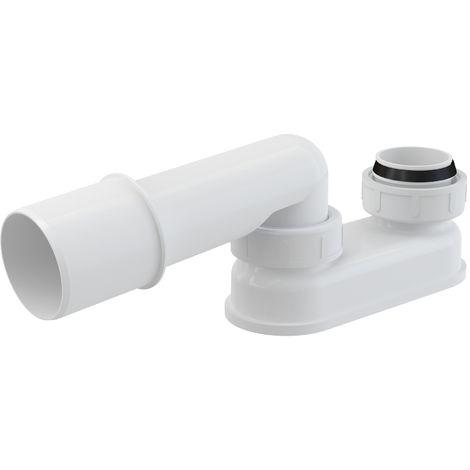 AlcaPlast A53 DN 50 Geruchsverschluss   Siphon für AlcaPlast Wannen Ablaufgarnituren