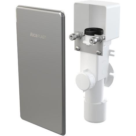 AlcaPlast AKS4 Tropfwasser Kondensat Siphon Unterputz | Ablauf DN50 | Klimageräte Luftentfeuchter