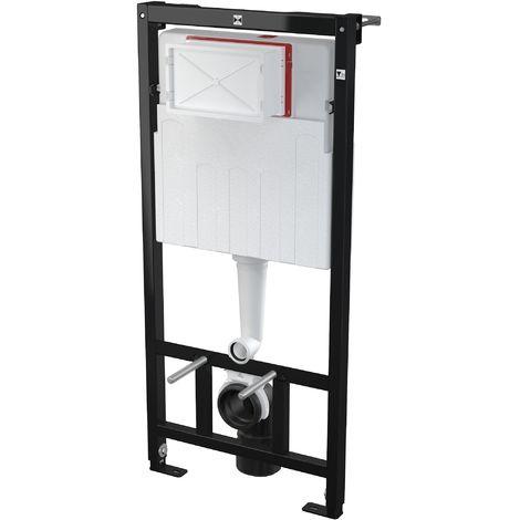 AlcaPlast AM101 WC Montageelement | Unterputz Spülkasten zur Wandmontage: 85cm