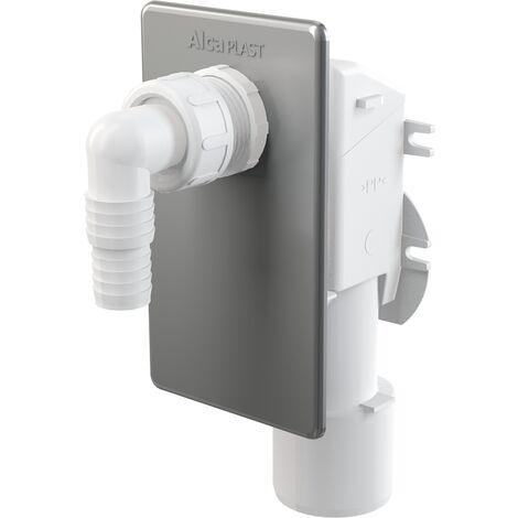 AlcaPlast APS3 Geräte Siphon Unterputz | Abwasseranschluss für Waschmaschine, Spülmaschine