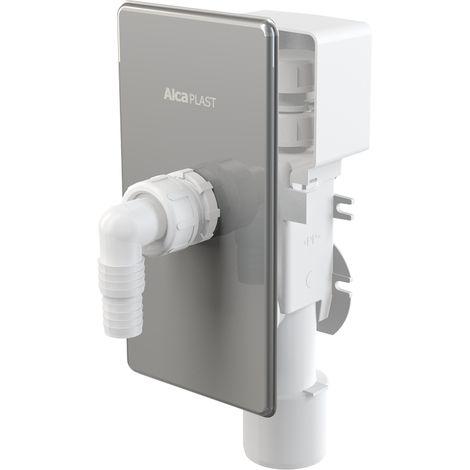 Geruchsverschluss G3//4-G1x40//50 chrom SANIT Wandeinbau