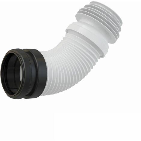 Alcaplast Flex Anschlussstutzen DN 90 mm 23-45 cm WC Montageelemente Ablaufbogen