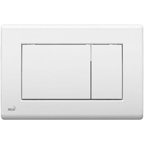 AlcaPlast Plaque de commande pour WC suspendus, Chrome-poli (m271)