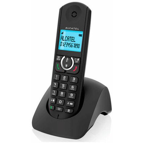 Alcatel Teléfono Inalámbrico Alcatel F380S Duo DECT Negro