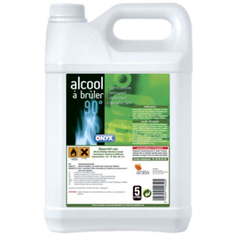 Alcool à brûler - 5L - 73400215