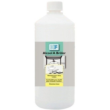 Alcool à brûler KF SICERON - Bidon 1L - 6837