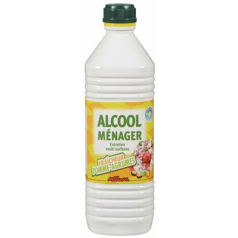 """main image of """"ALCOOL MENAGER POMME/AGRUMES 1L MIEUXA (Vendu par 12)"""""""