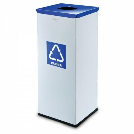 "Alda Edelstahl Müll-Eimer Papier Abfall-Trennung 45 L Müll-Tonne 127C-""54788276"""