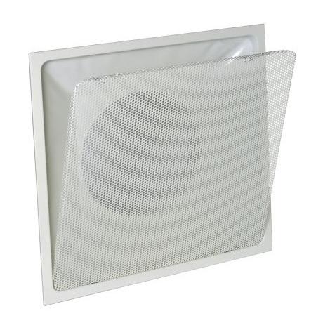 Aldes 11051170 Diffuseur carré 300x300 à tôle perforée amovible F16 D160