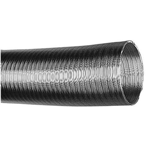 aldes 11091823 | aldes 11091823 - conduit semi rigide l 3m alflex alu compact diamètre 125 mm