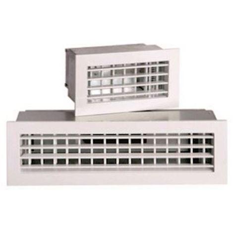 aldes 35700236 | aldes 35700236 - grille de transfert sur porte t.one ac 181 f1 350x400mm blanche ral9010 30%
